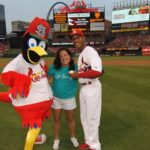 Ovarian Cancer Awareness Busch Stadium