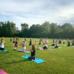 Pure Barre Outdoor Class